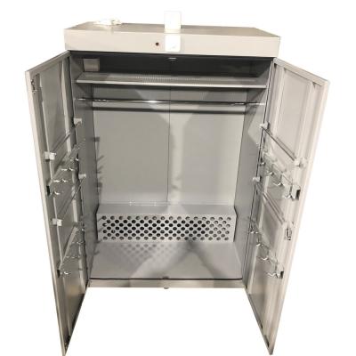 Сушильный шкаф  для одежды, спецодежды и обуви  на жидком теплоносителе ШС-4В