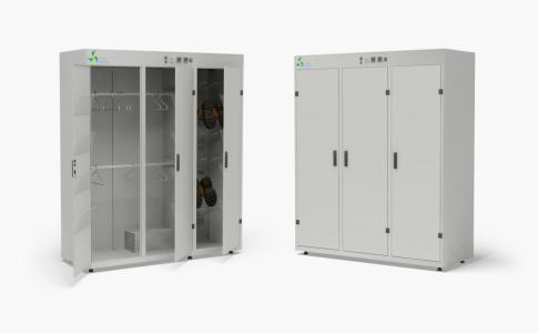 Электрический промышленный сушильный шкаф (камера) для спецодежды и обуви DION-PRO