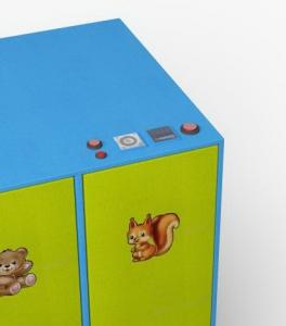Сушильный шкаф детской одежды DION-KID