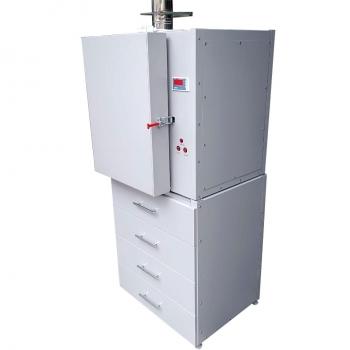 Тумба лабораторная металлическая ПРО ТМ-4-120 под шкаф 120 литров